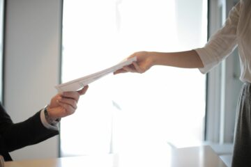 Resume handing over